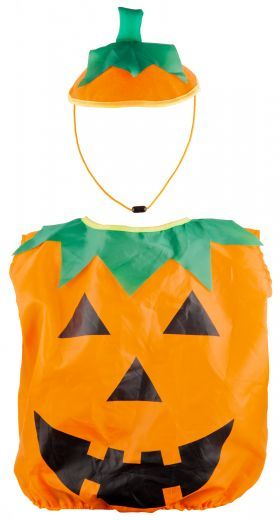 Kids Pumpkin Dress Up from Poundland