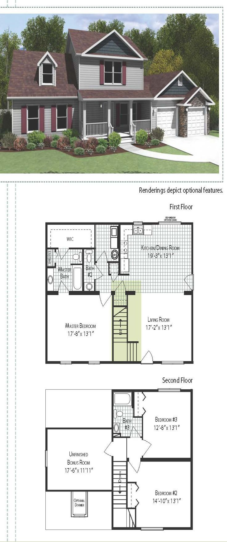 31 best floor plans images on pinterest square feet floor plans suburban style two story home 1879 square feet this home includes a small and