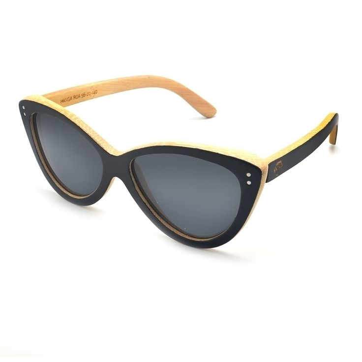 Un regalo para ella?. Lentes de madera Bonoboss modelo Hanga Roa. Wooden sunglasses