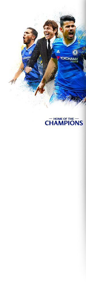 The official Chelsea FC website...