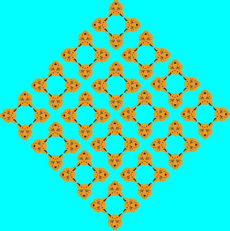 use un contraste entre cálidos y fríos  dominante: turquesa tónico naranja mediador: negro