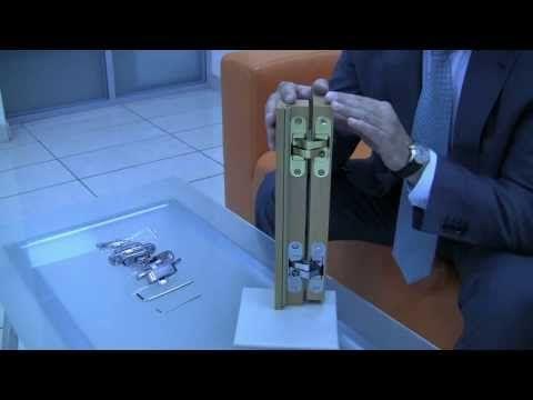 Скрытые петли ELEMENTIS - для деревянных дверей - YouTube