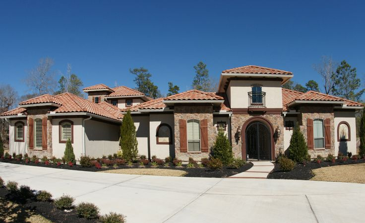 11 best custom homes images on pinterest custom homes for Custom home plans houston