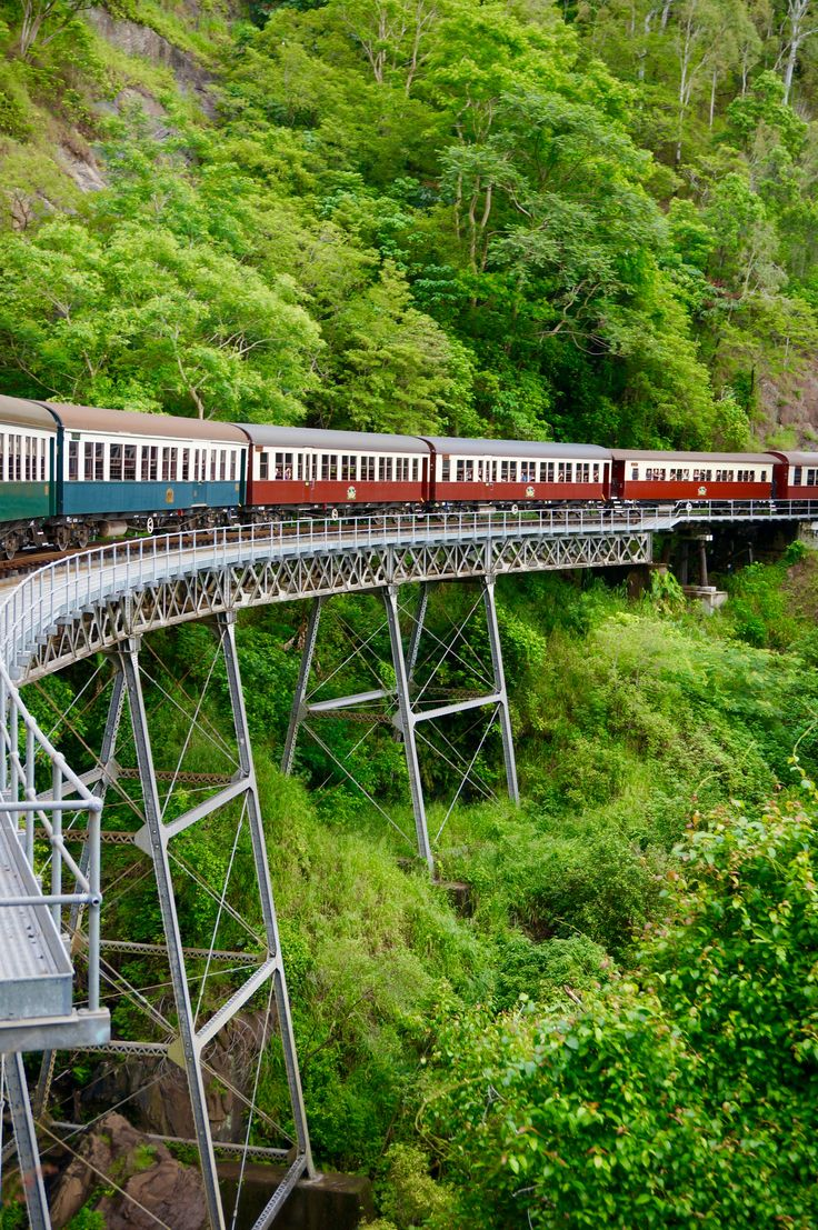 Train vers Kuranda, Australie