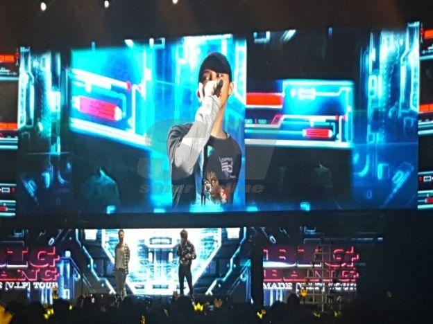 Janji Big Bang pada peminat   Gelagat Big Bang semasa konsert Sabtu lalu.  KUMPULANK-Pop terkenal Big Bang berjanji kepada peminat mengatakan bahawa album terbaru grup mereka akan dikeluarkan pada penghujung tahun ini. Salah seorang ahli grup itu Taeyang berkata bahawa album terbaru mereka kini berada dalam proses akhir dalam persiapan album itu serta berharap peminat-peminat mereka bersabar untuk sedikit masa lagi. Saya berasa sangat seronok kerana dapat berjumpa dengan VIP (kelab peminat)…