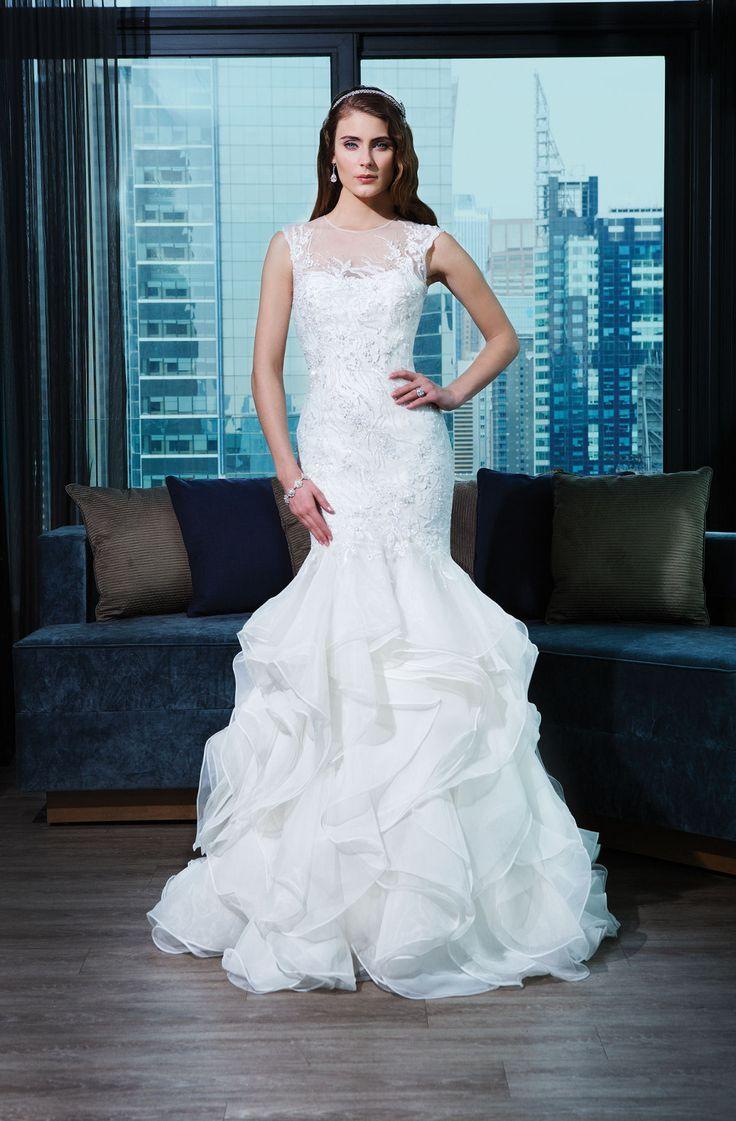 Mejores 771 imágenes de Wedding Dresses en Pinterest | Vestidos de ...