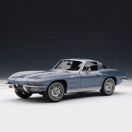 Chevrolet Corvette 1963 Coupe (Daytona Blue)