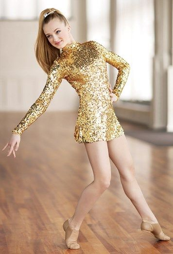 Long-Sleeve Sequin Dress | Balera™ This was a choice for a dance costumes Would've chosen it if it didn't have long sleeves