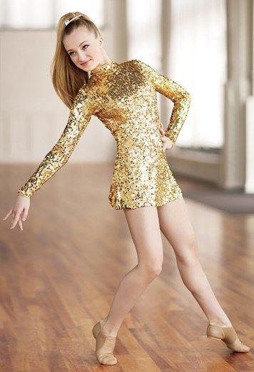 354758a9d Long-Sleeve Sequin Dress
