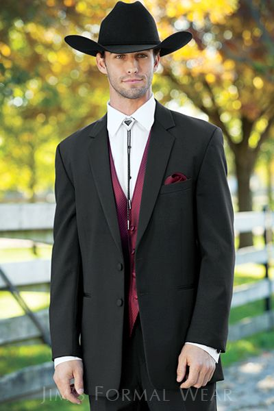 Stephen Geoffrey Emerson Western Tuxedo View on jimsformalwear.com, rent at Memories!