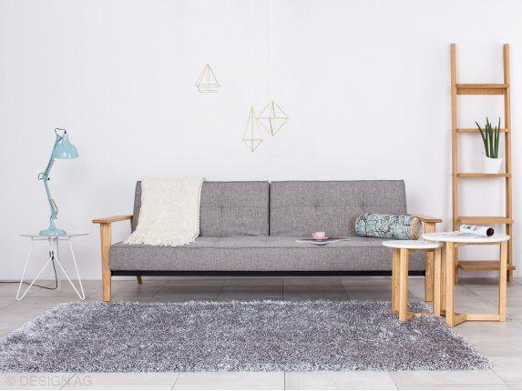 Dywan Visible Srebrny Ø 90 cm od Linie Design — Dywany — sfmeble.pl