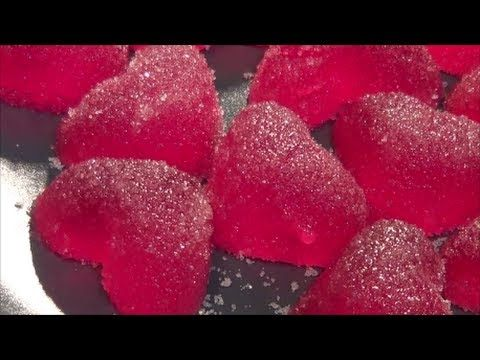 Gominolas paso a paso sabor granadina - YouTube
