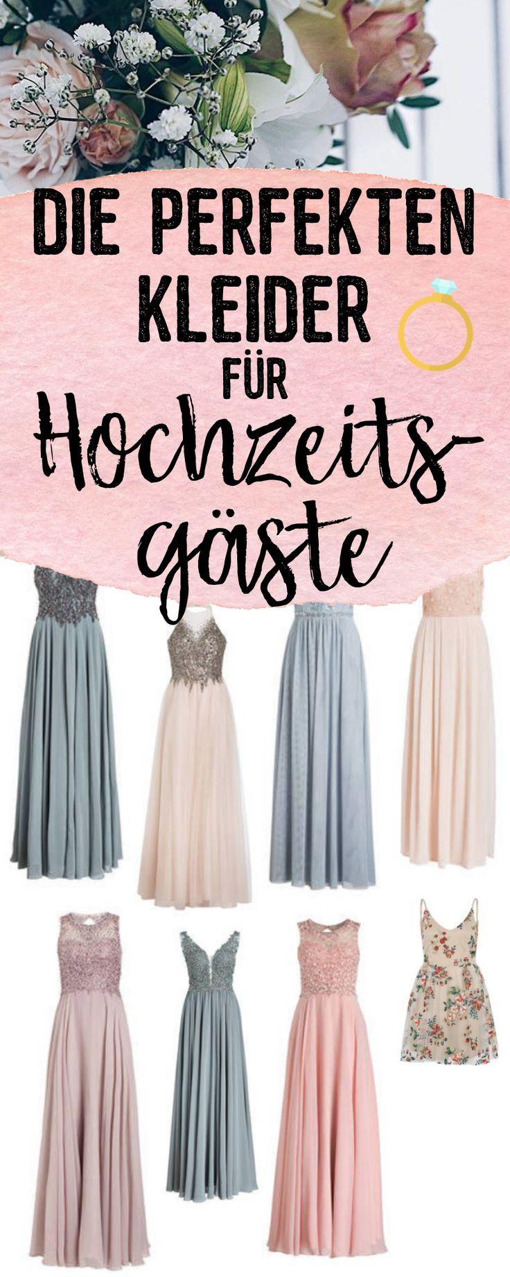 Die perfekten Kleider fu00fcr Hochzeitsgu00e4ste…