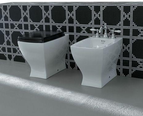 Jazz, design Meneghello Paolelli Associati sanitari a terra / back to wall sanitary ware #sanitaryware #design #bathroom #sanitari