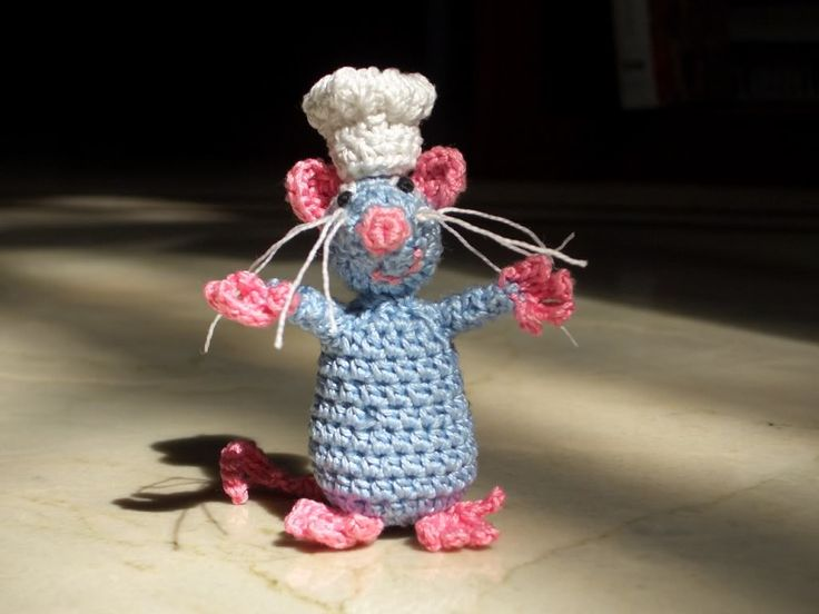 Ratatouille Rat free crochet pattern by soulcrochet on Crafster