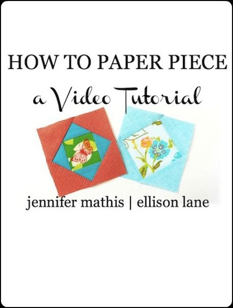Paper Piecing for Beginners