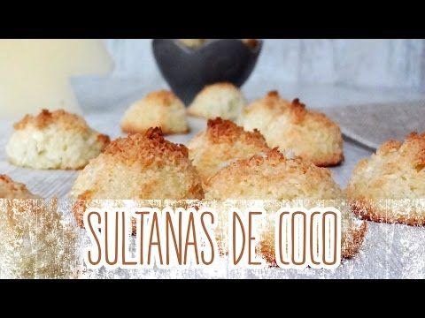 Receta de Sultanas de coco o coquitos: Aprende a cocinar Sultanas de coco o coquitos de la forma más sencilla y dulce!