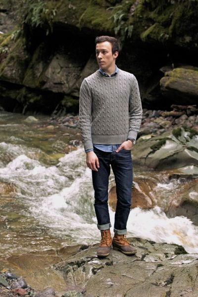Duck boots men fashion - photo#26