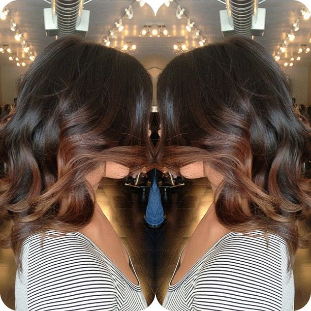 balayage'd ombré for the Fall