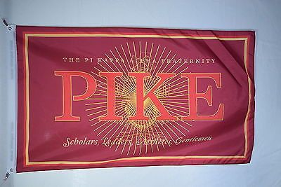 Pi Kappa Alpha College Fraternity Official Licensed Flag Banner 3x5