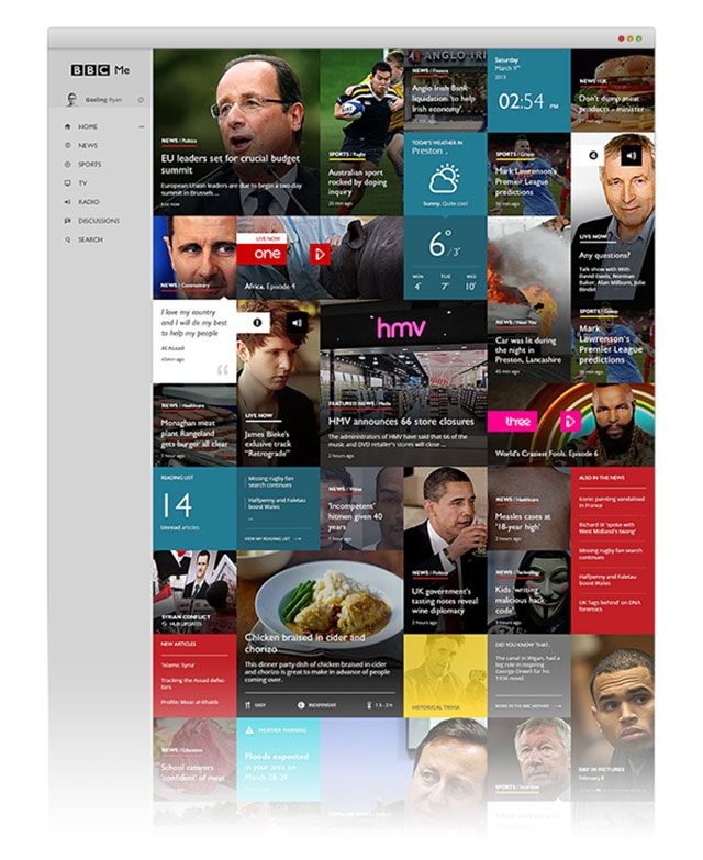 12 amazing (concept) redesigns of popular websites and apps that will make you say WOW!