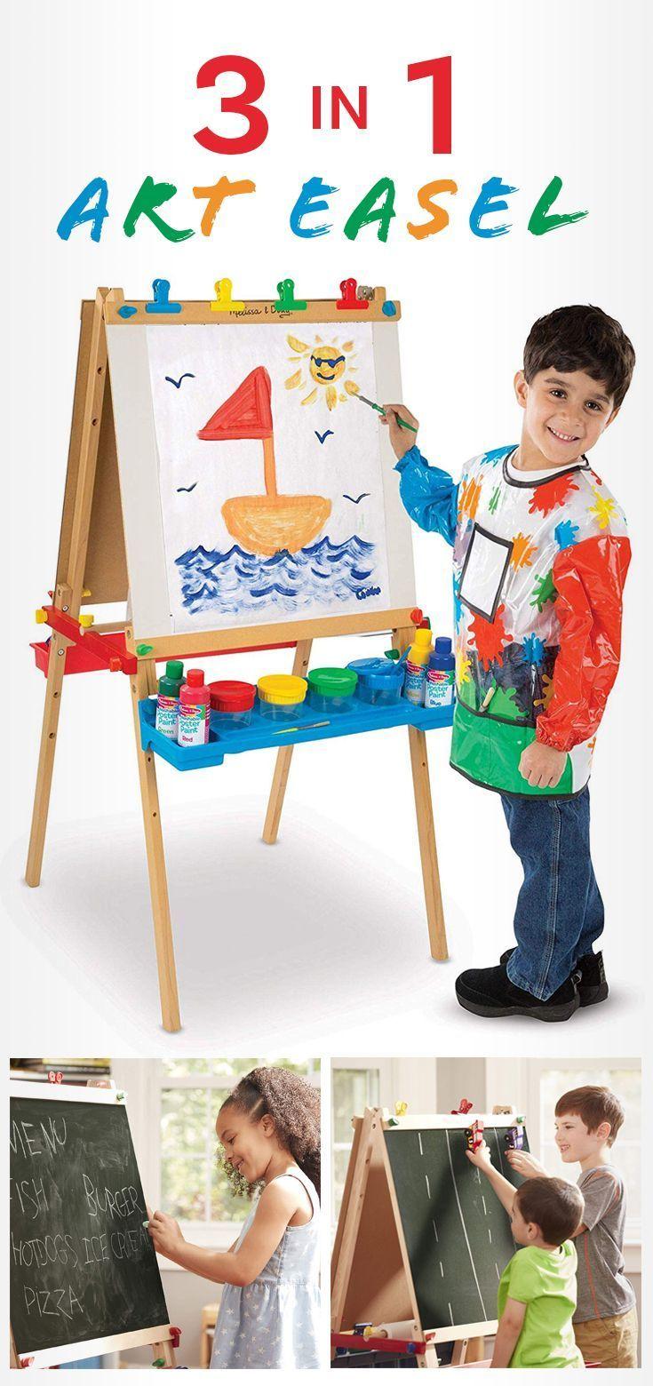 childrens art easel amazon