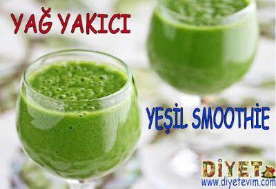 yağ yakıcı yeşil smoothie
