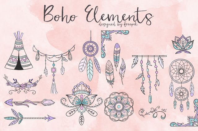DLOLLEYS HELP: Free Boho Elements