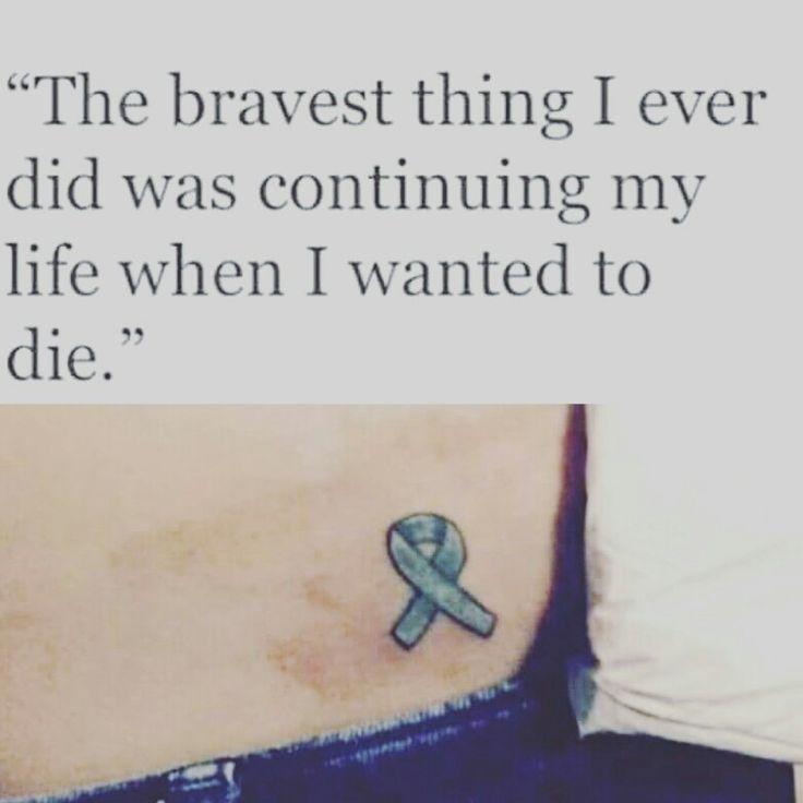 Sexual assault awareness, tattoo, ptsd, teal. #ItsNotOK17