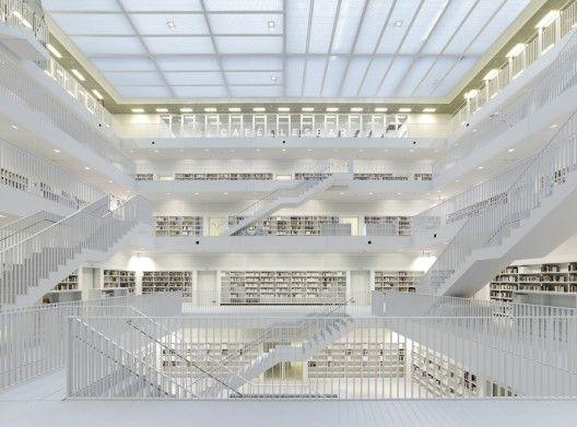 Stuttgart City Library / Yi Architects. GERMANY.