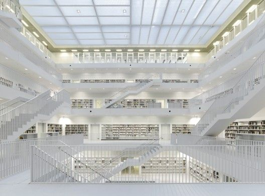 Stuttgart City Library / Yi Architects. GERMANY.