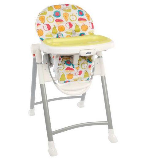 Tronas para bebés. Tronas para para bebés y niños a partir de 4 meses de edad con un divertido estampado. http://www.mibabyclub.com/tienda/alimentacion-del-bebe/tronas-para-bebes/trona-para-bebes-y-ninos-contempo-fruit-salad.html