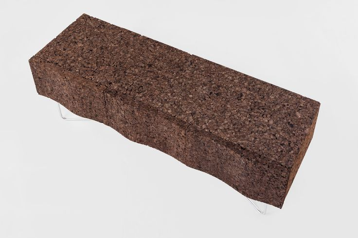 TV-Cupboard  WAVE in black cork and stainless steel.  For business relationship: info@creative-cork.com #cortiça#cork#liege#kork#design#sughero#furniture#meubles#ecologic# #sideboard #interior #home #decor #wood # #fabric #trends #