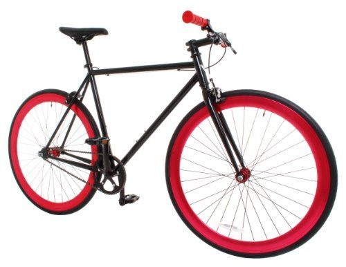 On Sale: http://fixiecycles.com/shop/bikes-bikes/vilano-rampage-fixed-gear-fixie-single-speed-road-bike-blackred-small50cm/  -  Vilano Rampage Fixed Gear Fixie Single Speed Road Bike, Black/Red, Small/50cm #fixie