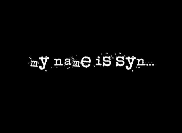 My name is Syn,...movie Trailer    Gerry Mendoza, director of photography    An i am. films production directed by Peter Simovic and starring GEMINI award winning actor Mpho Koaho.  A day in the life story of an average hustler and the characters he must endure.