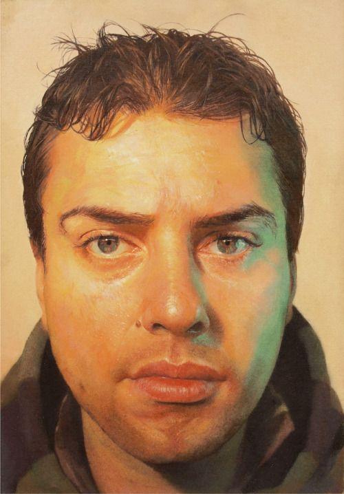 Gabriele Grones - Manuel cm20x28 olio su tela 2008