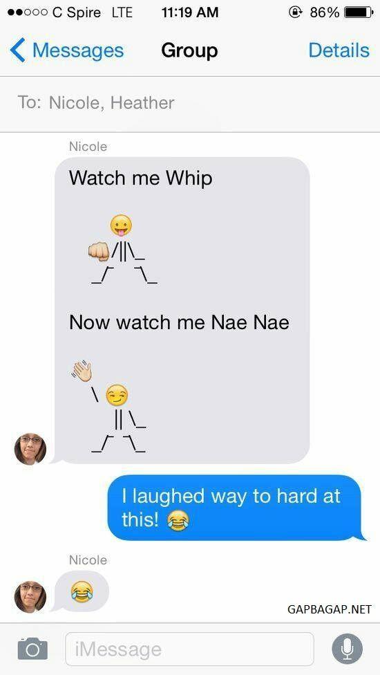 Hilarious Emoji Conversation