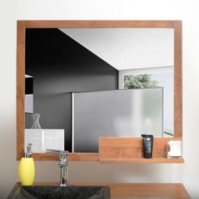 Miroir en teck Pure 80x70