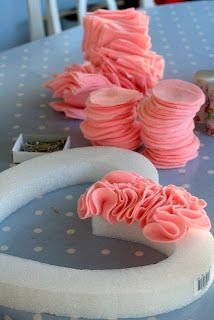 Party Wishes: Ruffled Heart