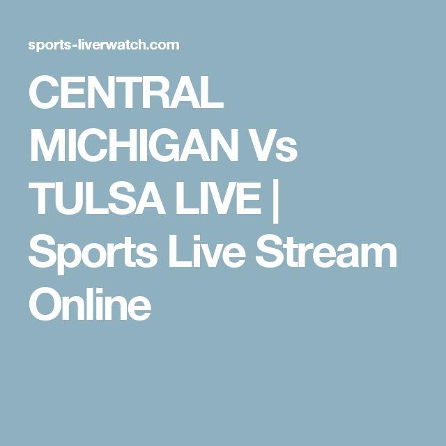 CENTRAL MICHIGAN Vs TULSA LIVE | Sports Live Stream Online