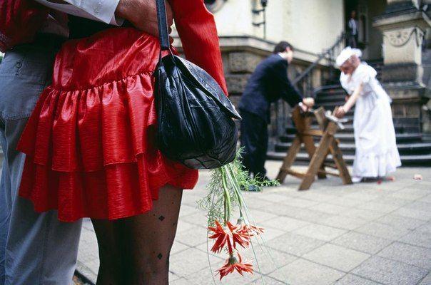 Уличная фотография Томаса Хепкера (Магнум)