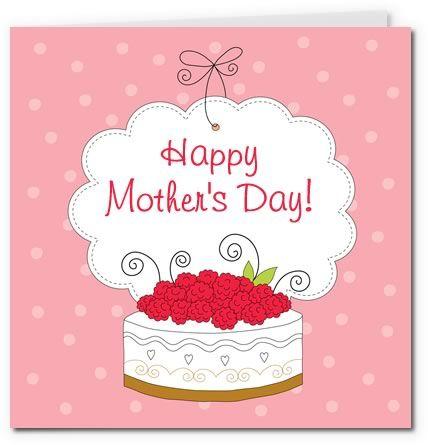 Tarjetas imprimibles para el día de la madre 4. 5 diseños.