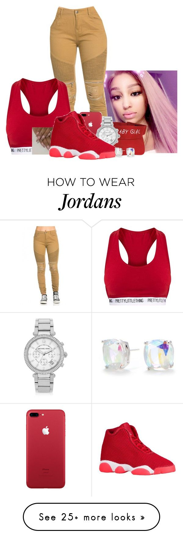 """""""Lil mama‼️"""" by love-fashion23 on Polyvore featuring Michael Kors and Kate Spade"""
