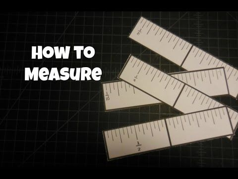 How To Measure {and card mat examples} - YouTube
