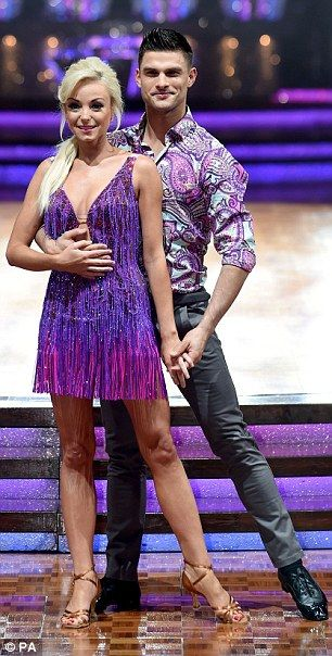 Georgia and Giovanni show off their flirty moves ahead of Strictly tour | Daily Mail Online