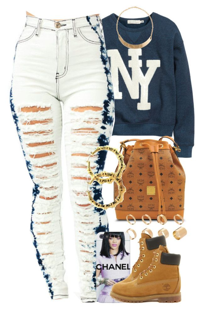 Untitled #1221 by power-beauty on Polyvore featuring polyvore, fashion, style, H&M, Timberland, MCM, Fergie, ASOS and Forever 21