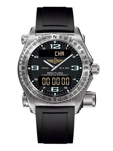 Breitling Professional Emergency Pilot Chronograph Watch. For more details, you may contact Worldwide Technologies, Breitling Emergency Watch Supplier in Dehradun, Uttarakhand, India at www.wtpl.co.in