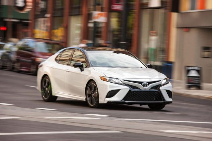 The 2018 Toyota Camry arrives at dealerships this summer.