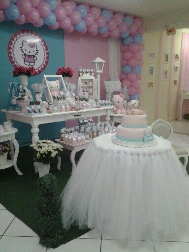 Festa Tema Hello Kitty Personalizados Atelier de Festas Eliana Simas