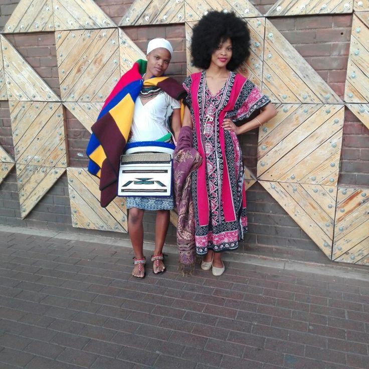 Nedebele sisters